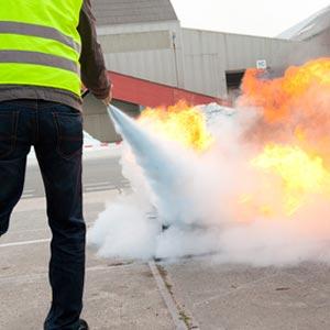 Fire Extinguishing Training